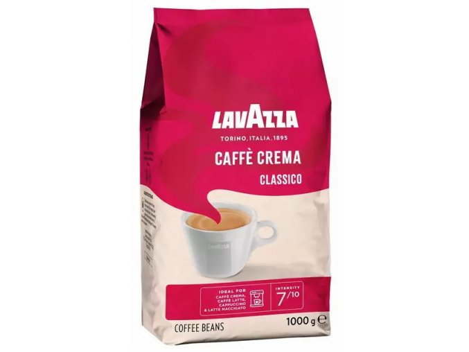 lavazza classico caffe crema 1kg zrnkova kava original