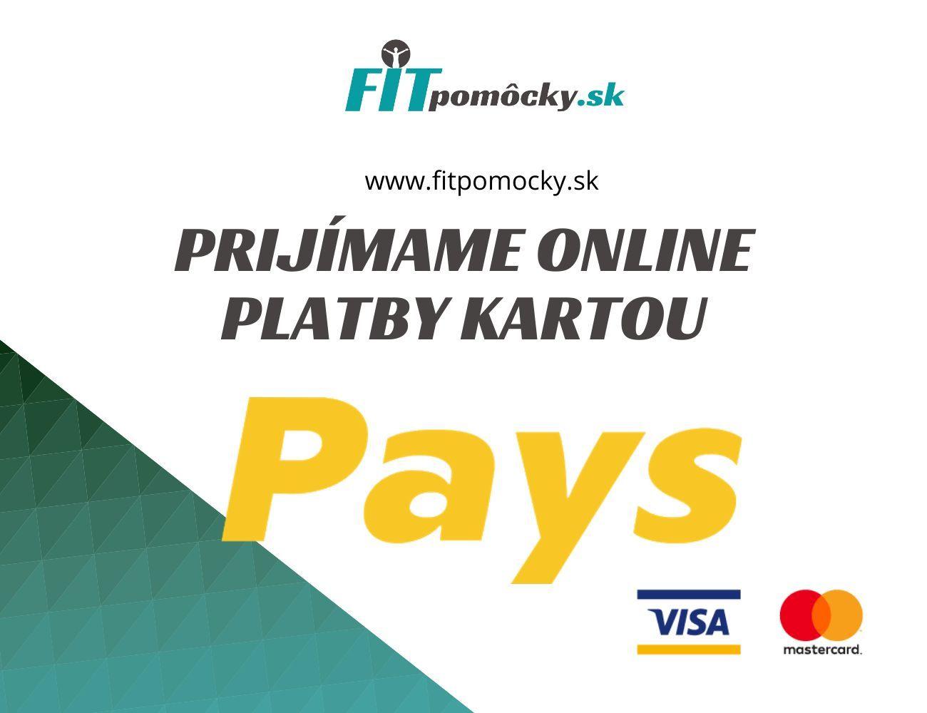 NOVINKA - Online platba kartou