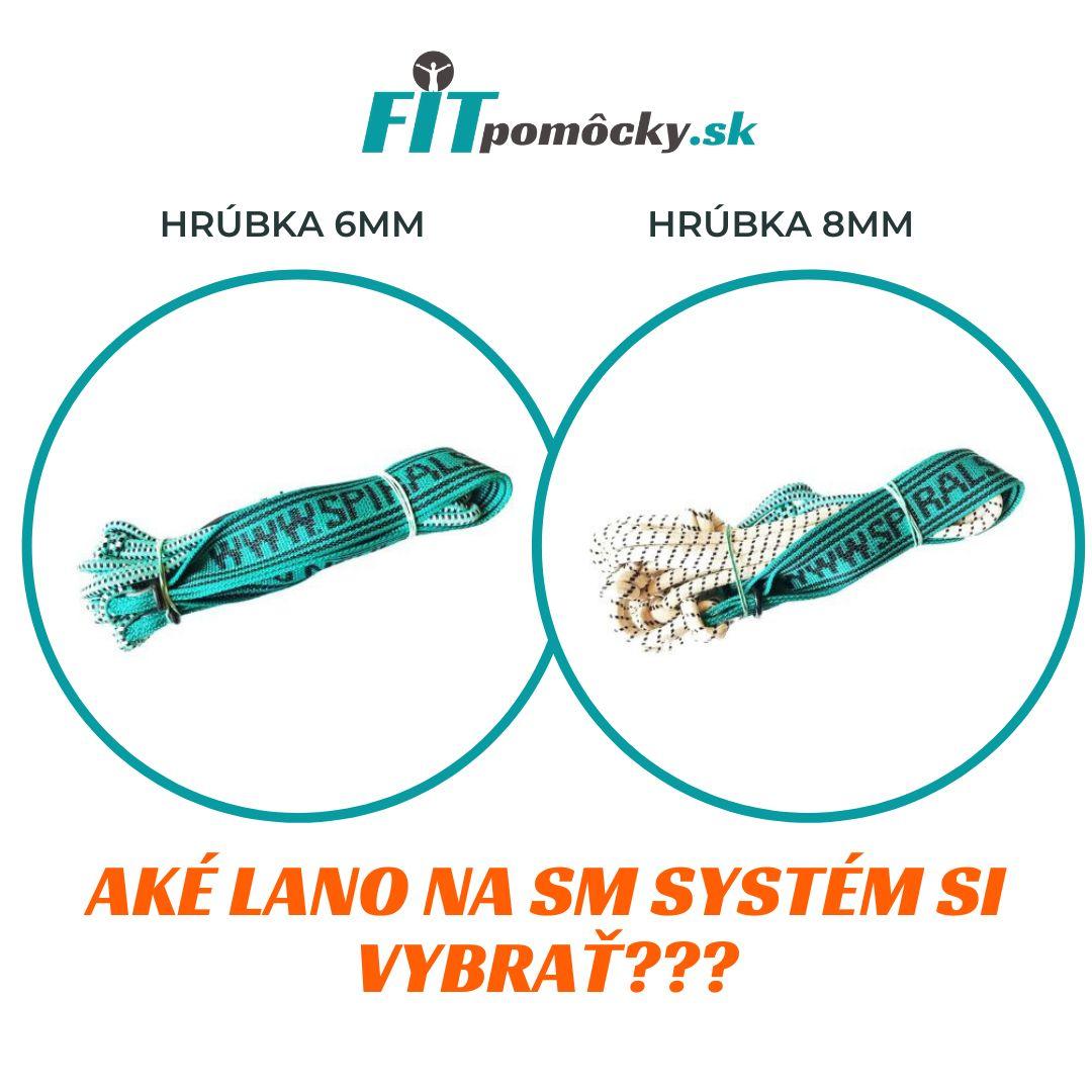 Aké  lano na cvičenie SM Systém/ SPS si vybrať?