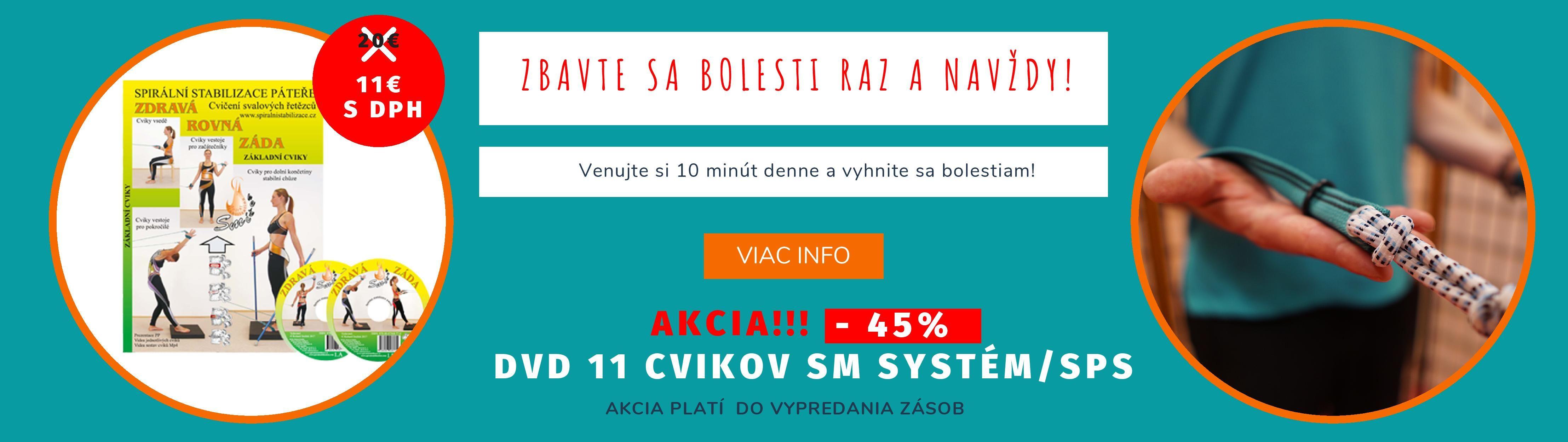 AKCIA DVD 11 CVIKOV