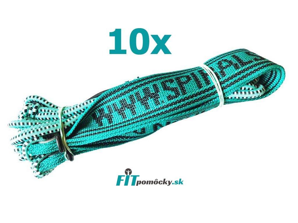10x elasticke lano sm system 6mm