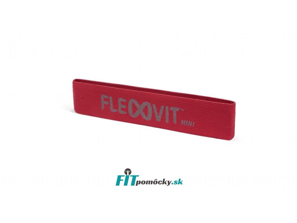 FLEXVIT Mini Band PREHAB červená - stredný odpor