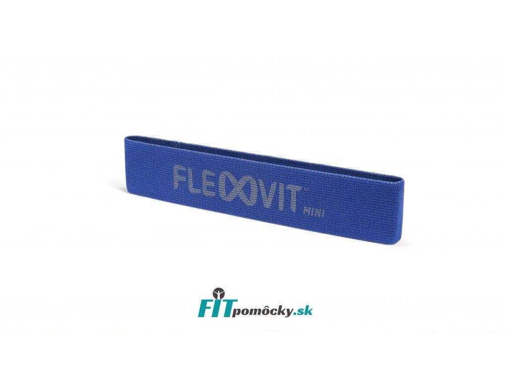FLEXVIT Mini Band POWER modrá- silný odpor