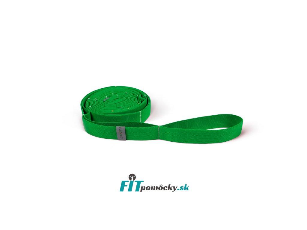 FLEXVIT Multi Band FITNESS zelená - stredný odpor