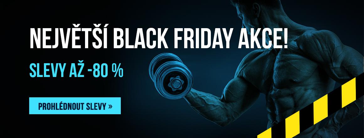 Největší BLACK FRIDAY! Slevy až -80 %