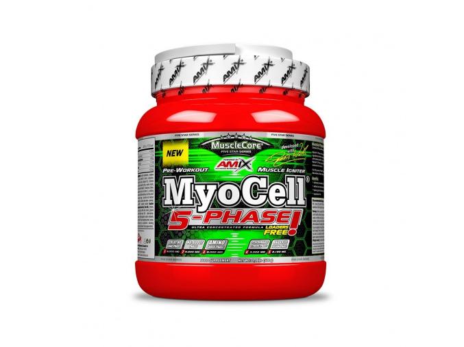 Amix MyoCell 5-Phase 500g (Příchuť Limetka)