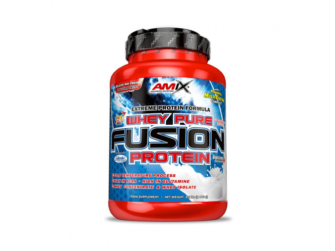 Amix Whey Pure Fusion Protein (Příchuť Vanilka, Velikost 2300 g)