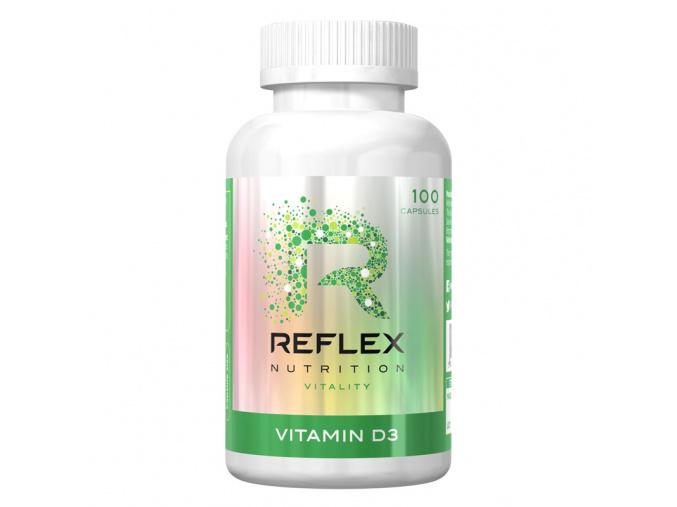 157 reflex nutrition vitamin d3 100 kapsli
