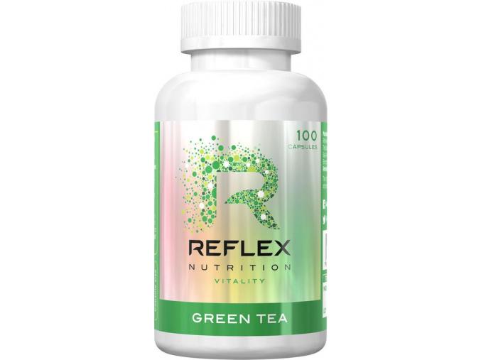 161 reflex nutrition green tea 100 kapsli