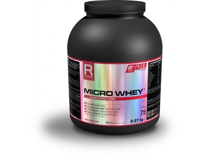 Reflex Nutrition Micro Whey (Příchuť Vanilka, Velikost 909 g)