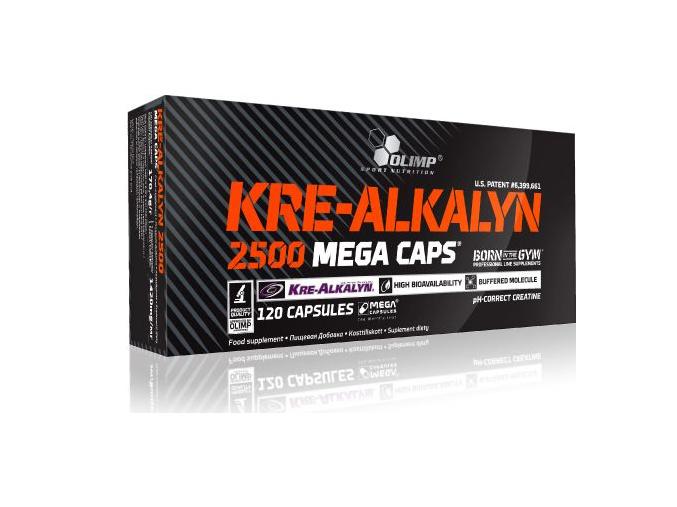 Olimp Kre-Alkalyn 2500 (Velikost 30 kapslí -EXPIRACE 12/2016!!!)