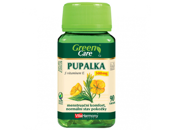 VitaHarmony Pupalka s vitaminem E - 500mg 90tob