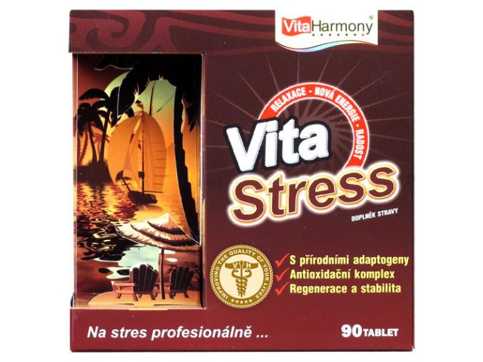 VitaStress - 90 tbl., při nadměrné a stresové zátěži