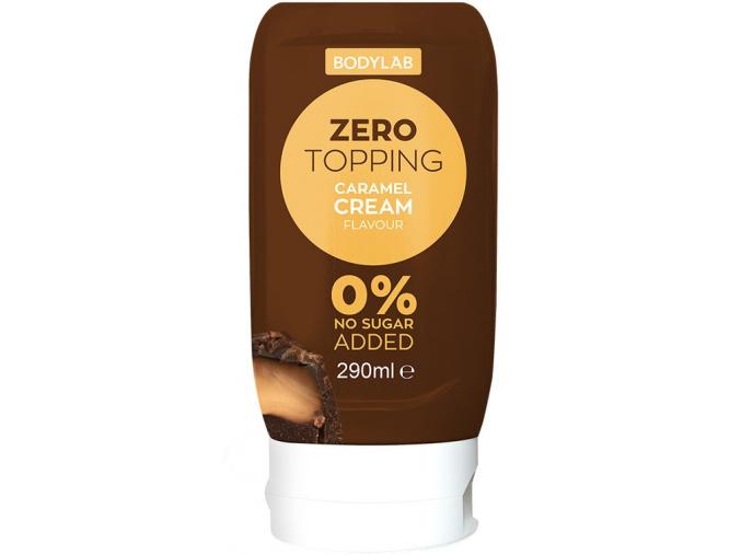 Bodylab Zero Topping Syrup 290ml (Příchuť White choco raspberry)