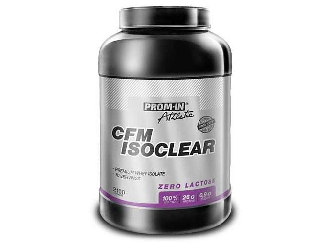 Prom-IN CFM IsoClear (Příchuť Vanilka, Velikost 2100 g)