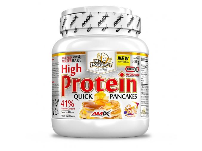 Amix High Protein Pancakes 600g (Příchuť Vanilka jogurt)