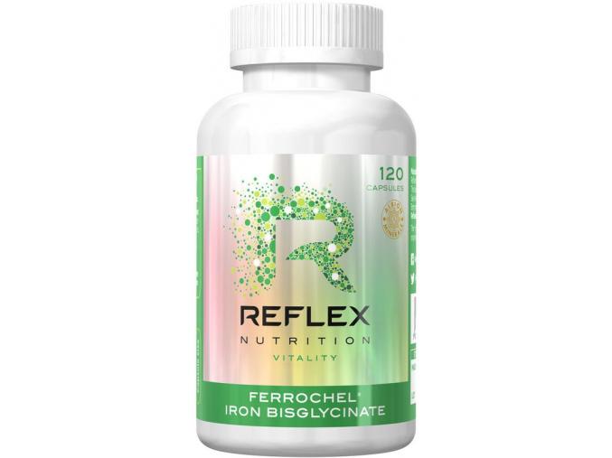 2895 1 reflex nutrition albion ferrochel zelezo 120 kapsli
