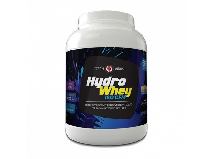 CZECH VIRUS Hydro Whey ISO CFM 1Kg (Příchuť Čokoláda)
