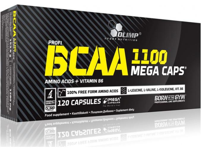 Olimp BCAA Mega caps 1100 (Velikost 30 kapslí)
