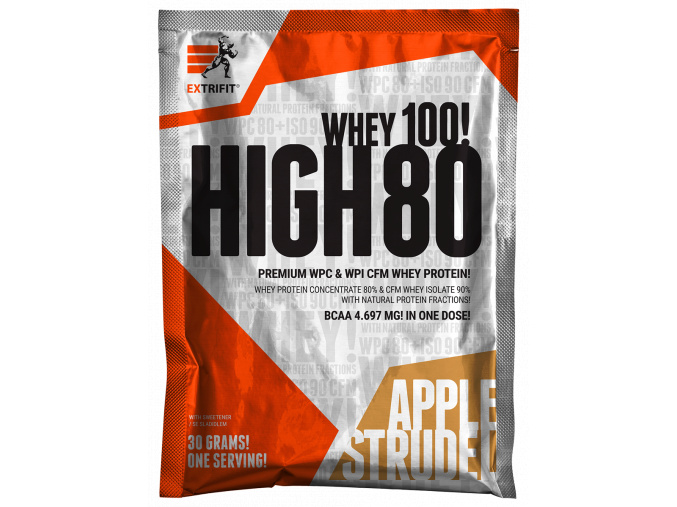 Extrifit High Whey 80 - vzorek 30g (Příchuť Vanilka)