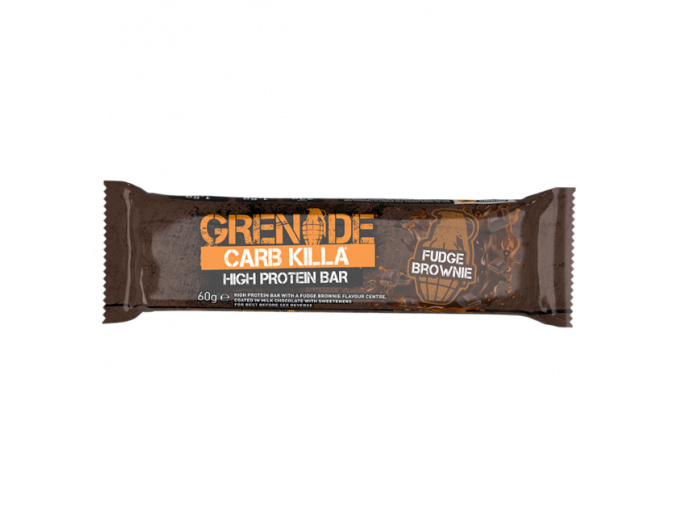 carb killa fudge brownie bar 800
