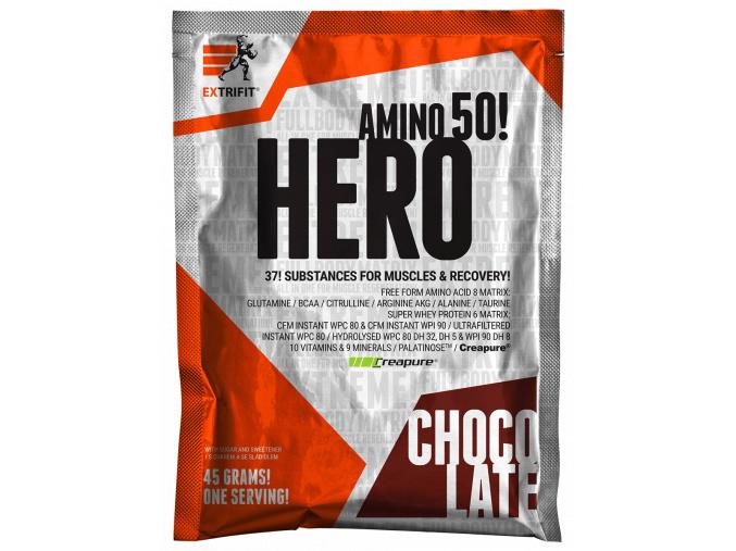 Extrifit Hero - vzorek 45g (Příchuť Ovocný shake)