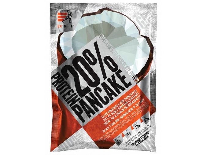 Extrifit Protein Pancake 20% 50g (Příchuť Jablko-skořice - EXPIRACE 10/2018)