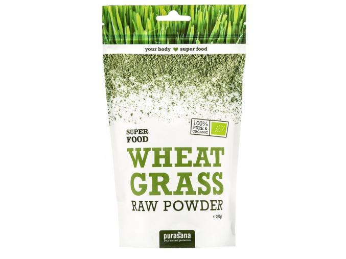 387 purasana wheat grass powder bio 200g