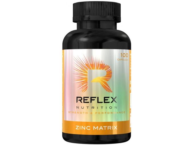 390 reflex nutrition zinc matrix zma 100 kapsli