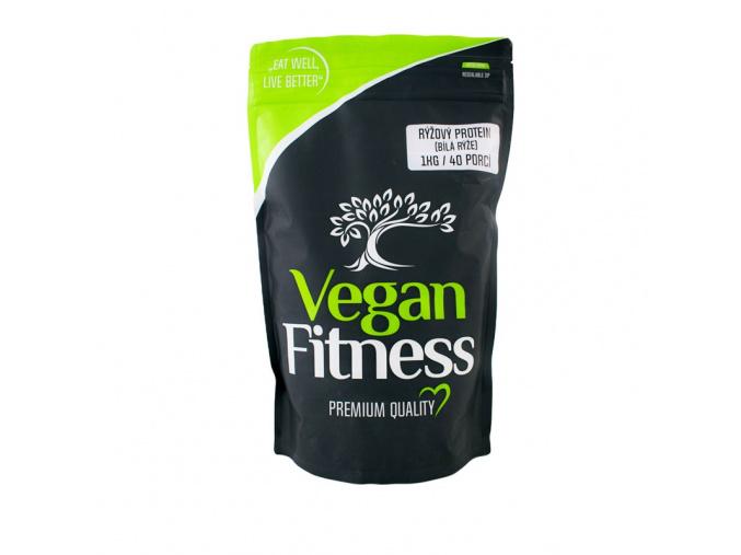 Vegan Fitness Rýžový protein 1kg (Příchuť Hnědá rýže - EXPIRACE 4/2019)