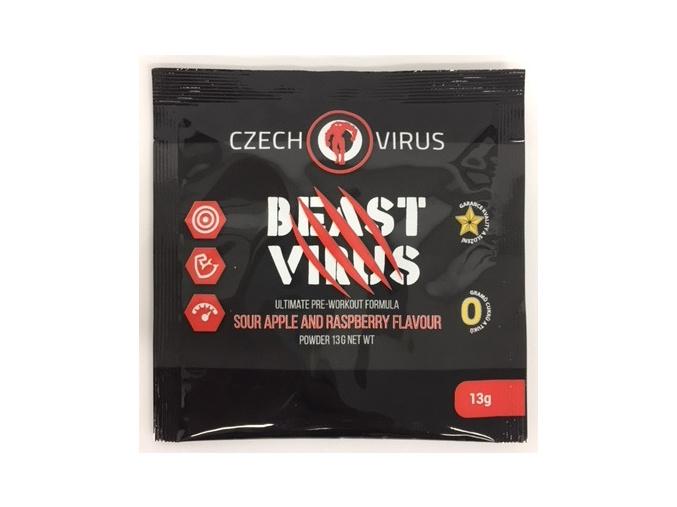 CZECH VIRUS Beast Virus - vzorek 13g (Příchuť Mandarinka)
