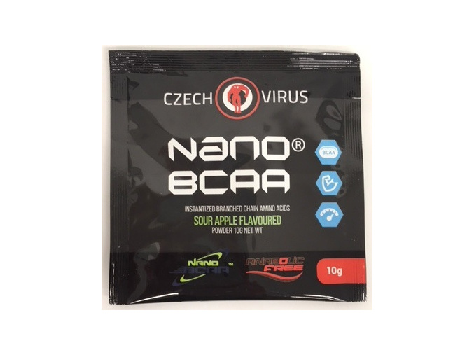 CZECH VIRUS NanoBCAA - vzorek 10g (Příchuť Třešeň)