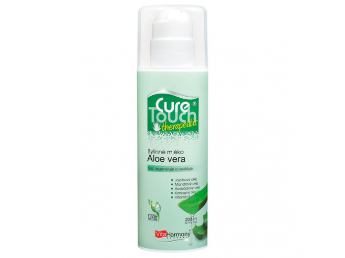 VitaHarmony Aloe vera - Bylinné mléko 200ml