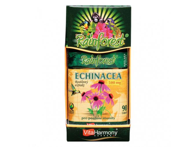 VitaHarmony RainForest® Echinacea 500mg 90tbl