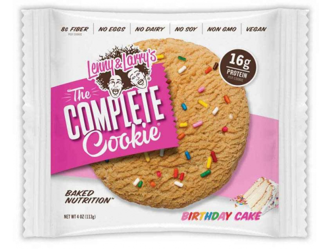 Lenny&Larry's Complete Cookie 113g (Příchuť White Choco Razzberry)