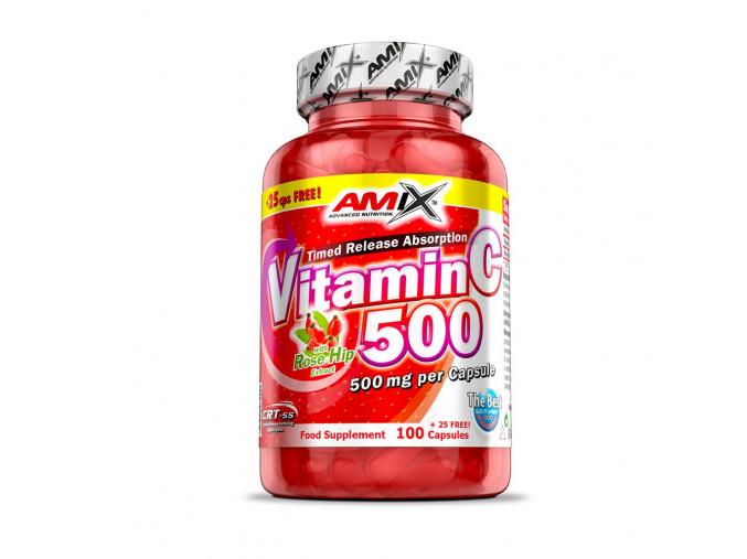 4341 amix vitamin c 500mg 125 kapsli