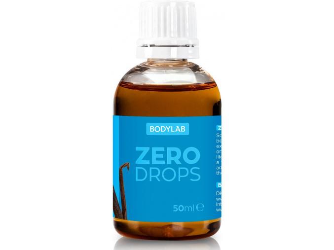 Bodylab Zero Drops 50ml (Příchuť Vanilka)