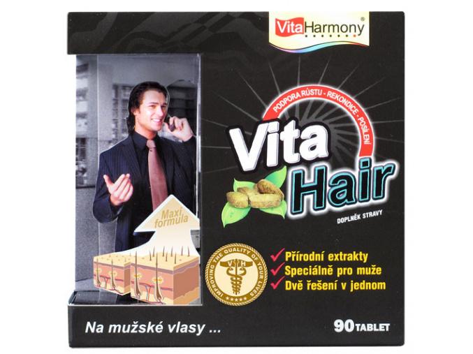 VitaHarmony VitaHair, vlasový stimulátor pro muže 90tbl