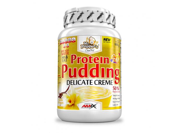 Amix Protein Pudding Creme 600g (Příchuť Vanilka-Jogurt)