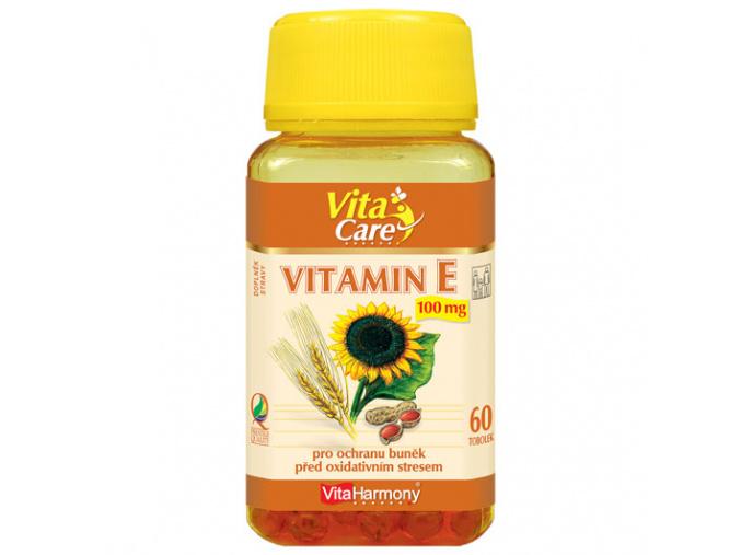 VitaHarmony Vitamin E 100mg 60tob