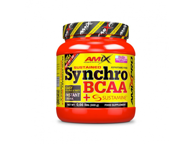 Amix Synchro BCAA + Sustamine Drink (Příchuť watermelon, Velikost 300g)