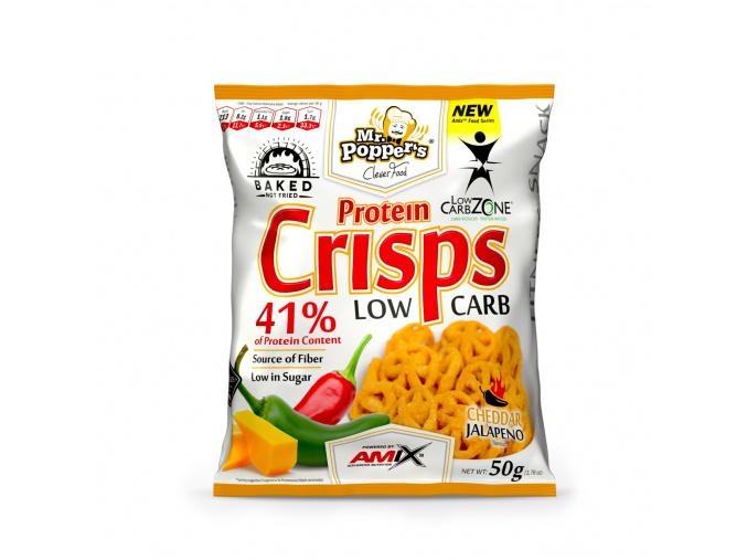 Amix Protein Crisps 50g (Příchuť Sladká paprika)