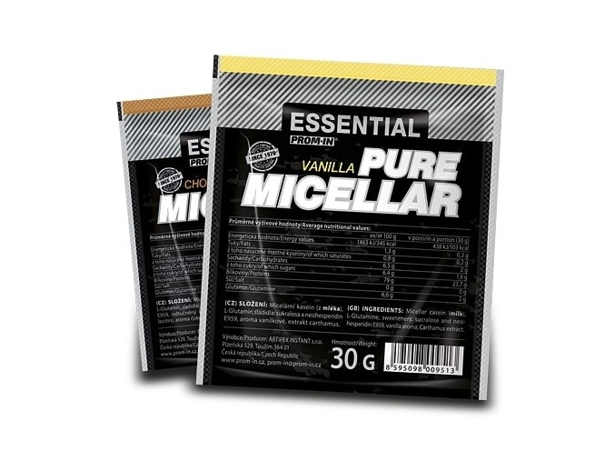 Prom-IN Essential Pure Micellar - vzorek 30g (Příchuť Vanilka)
