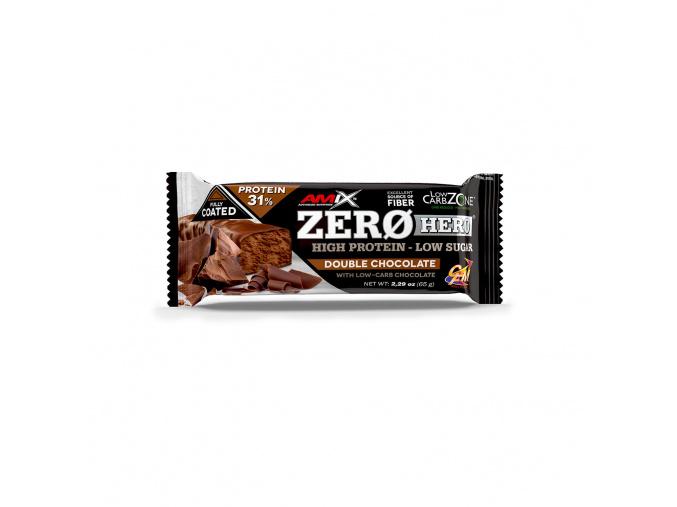 Amix Zero Hero 31% Protein Bar 65g (Příchuť Vanilka-Mandle)