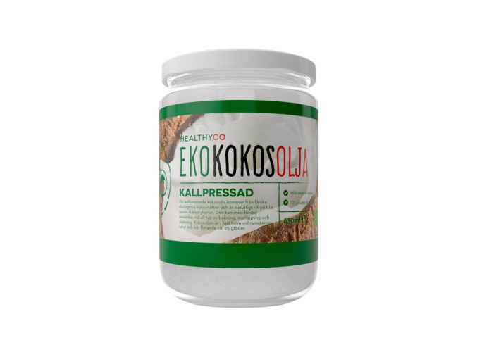 HealthyCo Bio Extra Panenský Kokosový olej (Velikost 630 ml)