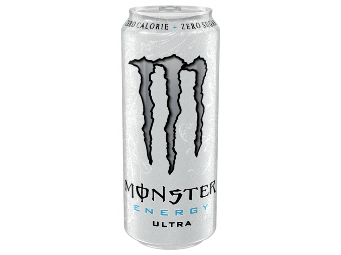 Monster Energy Ultra 500ml (Příchuť White)