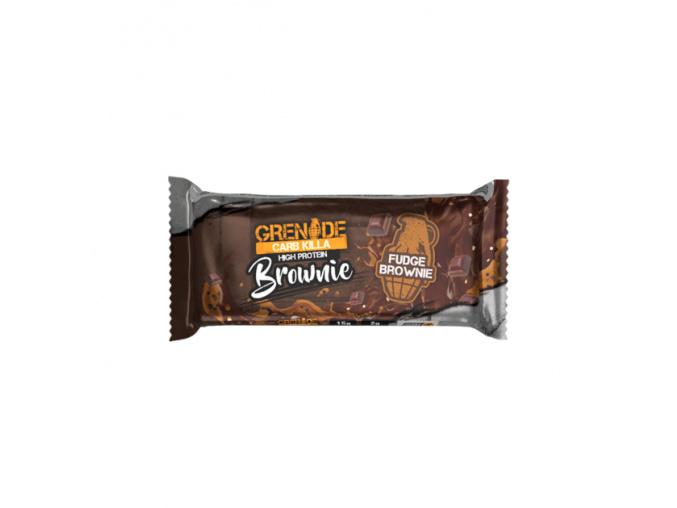 carb killa brownie fudge brownie bar 800