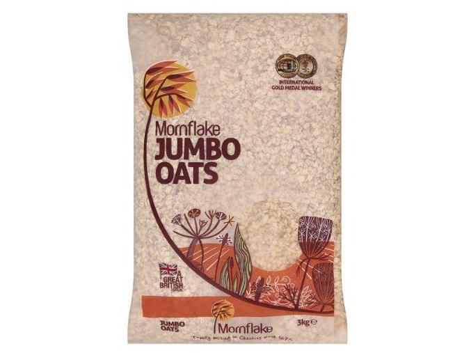 554 1 mornflake jumbo oats 3000g