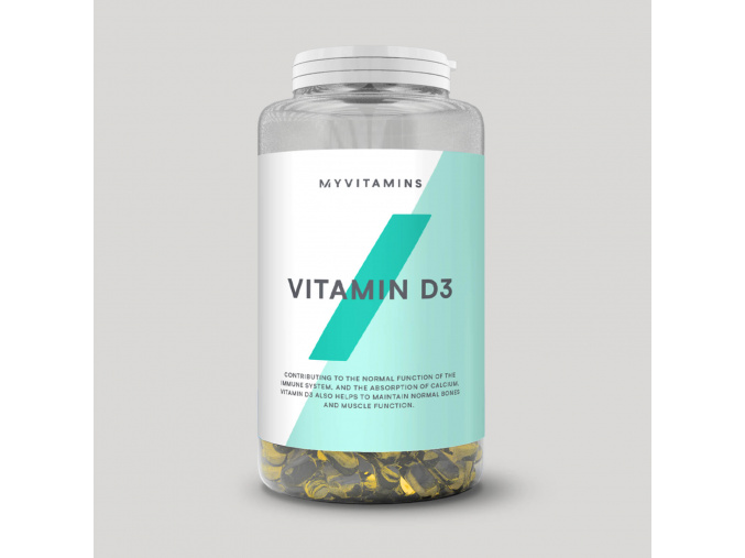 MyProtein Vitamin D3 180 tobolek