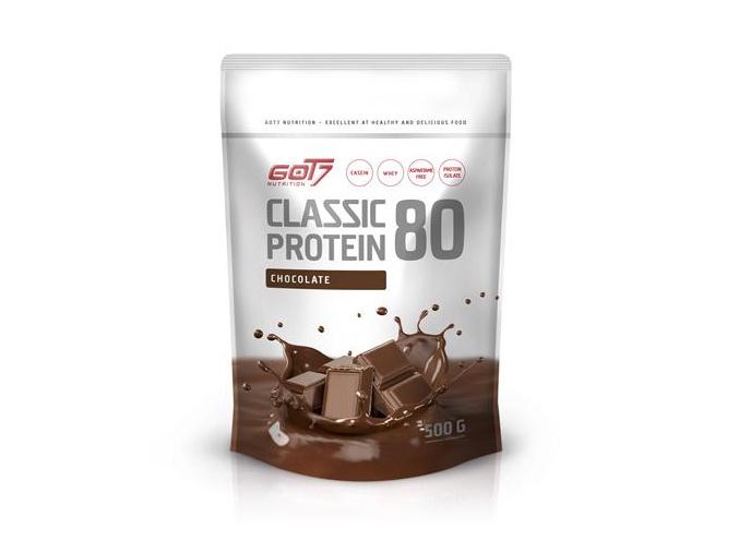got7 classic protein 80 500 g chocolate